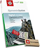 Alpenvereinskarten Digital: Sämtliche Alpenvereinskarten der Ostalpen auf USB-Stick Version 4: 75 Alpenvereinskarten auf USB-Stick