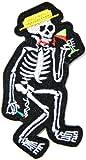 SOCIAL DISTORTION Skeleton Skull Logo Punk Rock Heavy Metal Music Band Jacket shirt hat blanket backpack T shirt Patch Embroidered Appliques Symbol Badge Cloth Sign Costume Gift