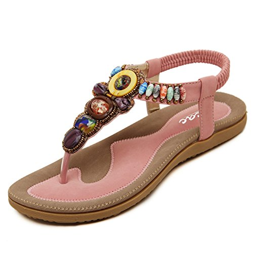 tacón Zicac mujer con Zapatos Rosa g1WTqfF8W