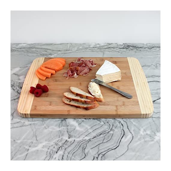 Extra Large Bamboo Cutting Board for Kitchen with Juice Groove - 17.5 x 13.5 x 0.75 inch 8 <p>BEST CUTTING BOARDS FOR KITCHEN & FOR YOUR KNIVES! ❤️Jumbo oversize design bread cutting bosrd cutlery cuttig cutting bords cuttimg curting cuttinf cutting bored mothers day kitchen cuting cutting boad cuttting cutting broad cuttong personalized baboo cutting bpard non slip woodcutting bambo cutting citting cuttibg cutting boarf mothers day cutting briskit cutting cutting valentines day cuttingg cuttng wood cuting wood cutring wood cuttig cutting boads cuttong cuttung wooden cuttin wooden cutting boatd bamboo cuting bamboo cuttimg bamboo cutting bosrd briskit cutting catting chopping light weight chopping one hand cutitng cuttibg cuttign anti slip cutting latge cutting woode cutting xl xxlarge light weight dont slip cutting obard cuttinng cuttung set woden cutting wood cutting biard wooden cuting woodwn cutting cutting baord cutting borad most popular items on amazon todays deals lightning deals cutring toaster ovens best rated cool stuff for women tabla para picar cocina accesorios nsf cutting boatd cutting boar cutting boars heavy duty choice cuttingboard oversized gadget small cuttingboards gadgets xl smart grooved jumbo rv handle inch well usa men green 2018 in inches chicken feet raw oven stuff most ovens utensil legs basics oversize toaster medium free Brisket valentines cuttong cooking platter holder end xxl beech bord dad silent stovetop camper parents voard wood wooden wedding registry by brides name charcuterie butcher block wood cutting kitchen essentials cutting oil noodle huge giant chef carving with juice grooves turkey carving platter turkey carving spikes turkey shaped cutting charturie charqueterie tabla para quesos charcuterie plates outdoor fresh nsf entertaining serving dishes soft 18x13 18 x 13 grilling easy to clean cutting board microbial certified single hand made handmade best heavy duty king camping dad man men vegan bacteria anti mold comercial commercial network handcrafted hand crafted ridged sale seal one piece anti slip LOVE OUR CUTTING BOARDS FOR KITCHEN or YOUR MONEY BACK, Guaranteed! We stand behind our bamboo cutting board 100% If anything is wrong with your heavy duty cutting board Contact Us directly and give us a chance to make it right! 100% SAFE FOR FAMILY! Eco friendly bamboo cutting board with natural antimicrobial properties and already coated with food grade mineral oil. Renewable, formaldehyde-free, BPA free and no chemicals used during production makes this a perfect choice for your family and the environment. Do Not Place In Dishwasher! KNIFE FRIENDLY! Cutting board won't dull your expensive knife set when you carve turkey, chop vegetables, prep steak meat, roast beef, cooking bbq brisket, slice cheese, cut pizza, fish or other cool food meal stuff. Top choice for cutlery utensil as compared to other noodle, teak, hard plastic or thick hardwood end grain cutting block. DEEP JUICE GROOVE! This rectangle turkey carving platter holds up to 2 oz. of liquid keeps juices from spilling all over your kitchenware counter. The oversized bambu drip well catcher is great to cut turkey, chopping juicy veggies or fruit. HAPPY COOKS ranging from home cooks to professional chefs at restaurants, commercial kitchens, caterers and bakeries. Comes in a gift worthy package for mom, perfect for any occasion like Valentines's Day, Thanksgiving, Bridal Shower, Housewarming, Birthday, House Warming Presents search Wedding Registry Ideas by Brides Name.</p>