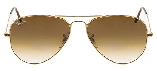 Óculos de Sol Ray Ban Aviator RB3025L 001 51-58  Amazon.com.br ... 130289b3a0