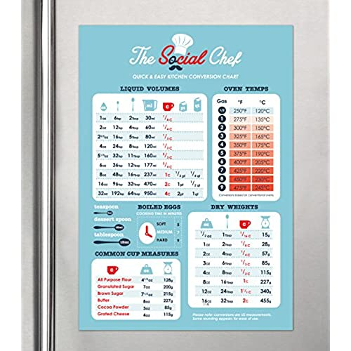 Cooking Conversion Chart AmazonCom