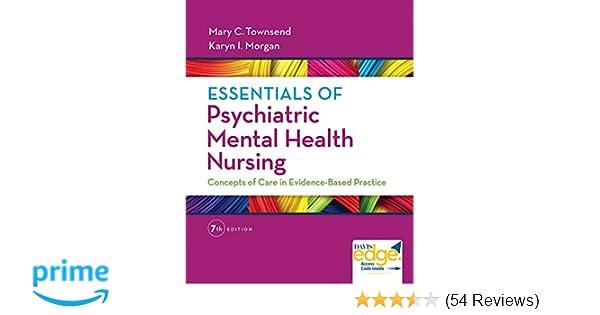Essentials of Psychiatric Mental Health Nursing: Concepts of