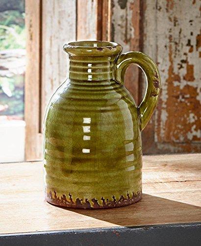 (Rustic Ceramic Pottery Vase Jug)