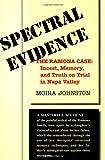 Spectral Evidence, Moira Johnston, 0813335876