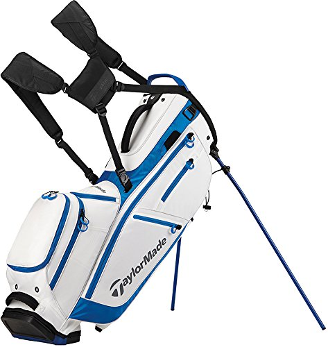 TaylorMade FlexTech CrossOver Golf Bag White/Royal