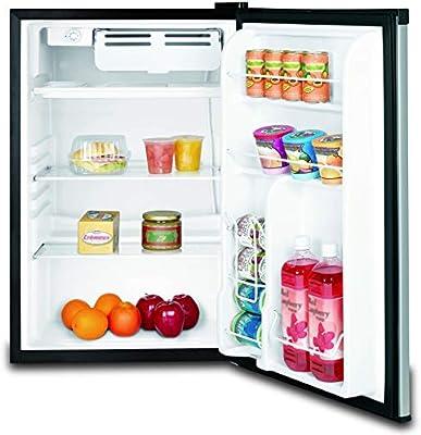 Frigidaire EFR451 2 Door Refrigerator//Freezer Platinum Series 4.6 cu ft Stainless Steel