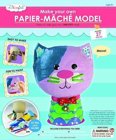 My Studio Girl Papier Mache Cat Kit