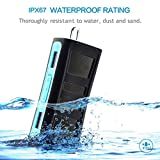Bluextel 6W Enhanced Bass Portable Bluetooth 4.0 Speakers Waterproof IPX67 Floating Speaker for Outdoor and Shower(Blue)