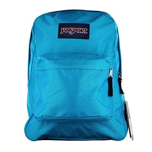 (Classic Jansport Superbreak Backpack (Spanish Teal (T50101H)))