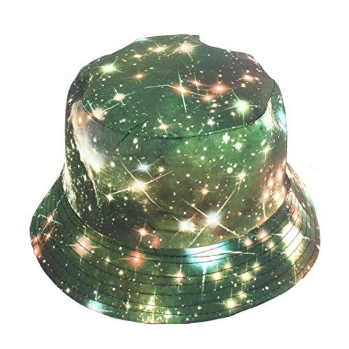 Galaxy Bucket Hat Star Printed Pattern Fisherman Cap Summer Sun Hats]()