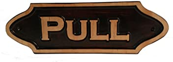 Pull Small Plaque