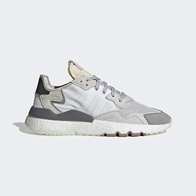 adidas Originals Herren Sneaker Nite Jogger Weiss (10) 4513