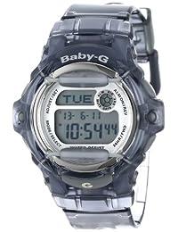 "Casio BG169R-8""Baby-G de la mujer Gray resina reloj deportivo"