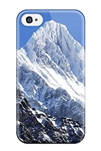 Awesome Design Berner Oberland Ice Hard Case Cover For Iphone 4/4s