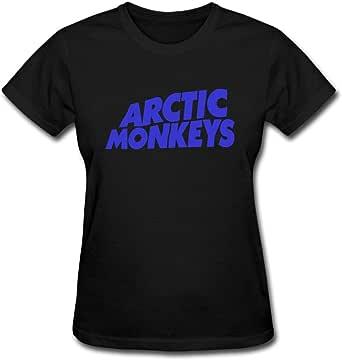 Duanfu Arctic Monkeys Logo Women's Cotton Short Sleeve T-Shirt