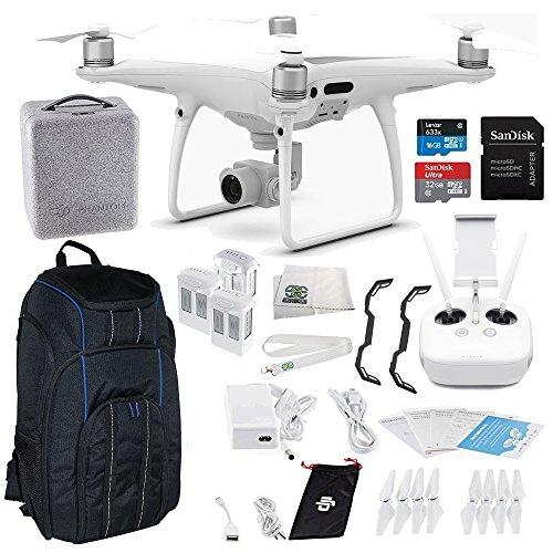 DJI Phantom 4 PRO Quadcopter Ultimate Pro Backpack Bundle Kit