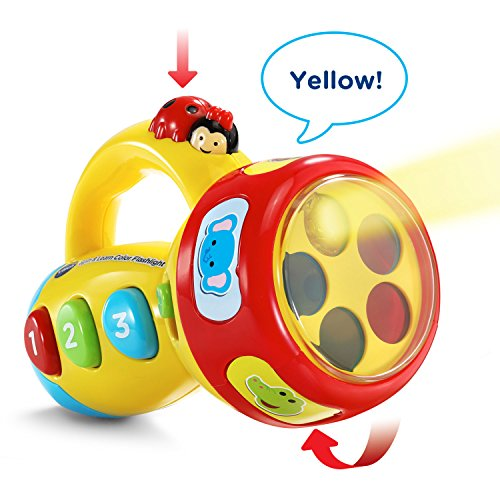 VTech Spin & Learn Color Flashlight - WarehouseWand.com