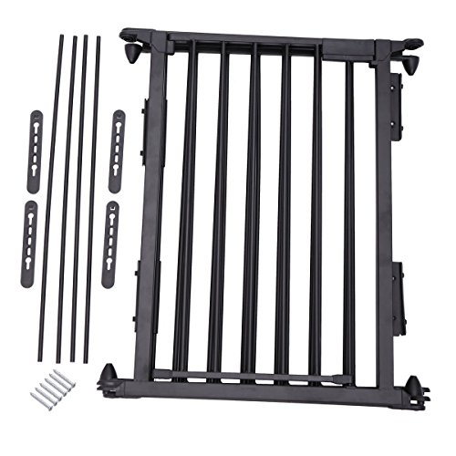 JAXPETY 25''x 30'' 5 Panel Baby Safety Fence Hearth Gate BBQ Fire Gate Fireplace Metal Plastic Pet Dog Cat by JAXPETY (Image #6)
