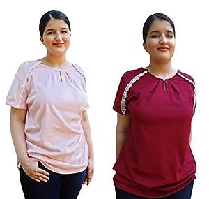Blossom Breeze Post Surgery Wear   Womens T-Shirt