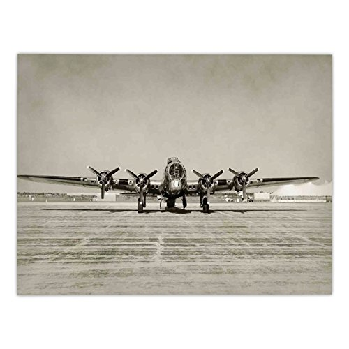 (Polyester Rectangular Tablecloth,Airplane Decor,World War II Era Heavy Bomber Front View Old Photo Flying history Takeoff Aeronautics Decorative,,Dining Room Kitchen Picnic Table Cloth Cover,for Outdo)