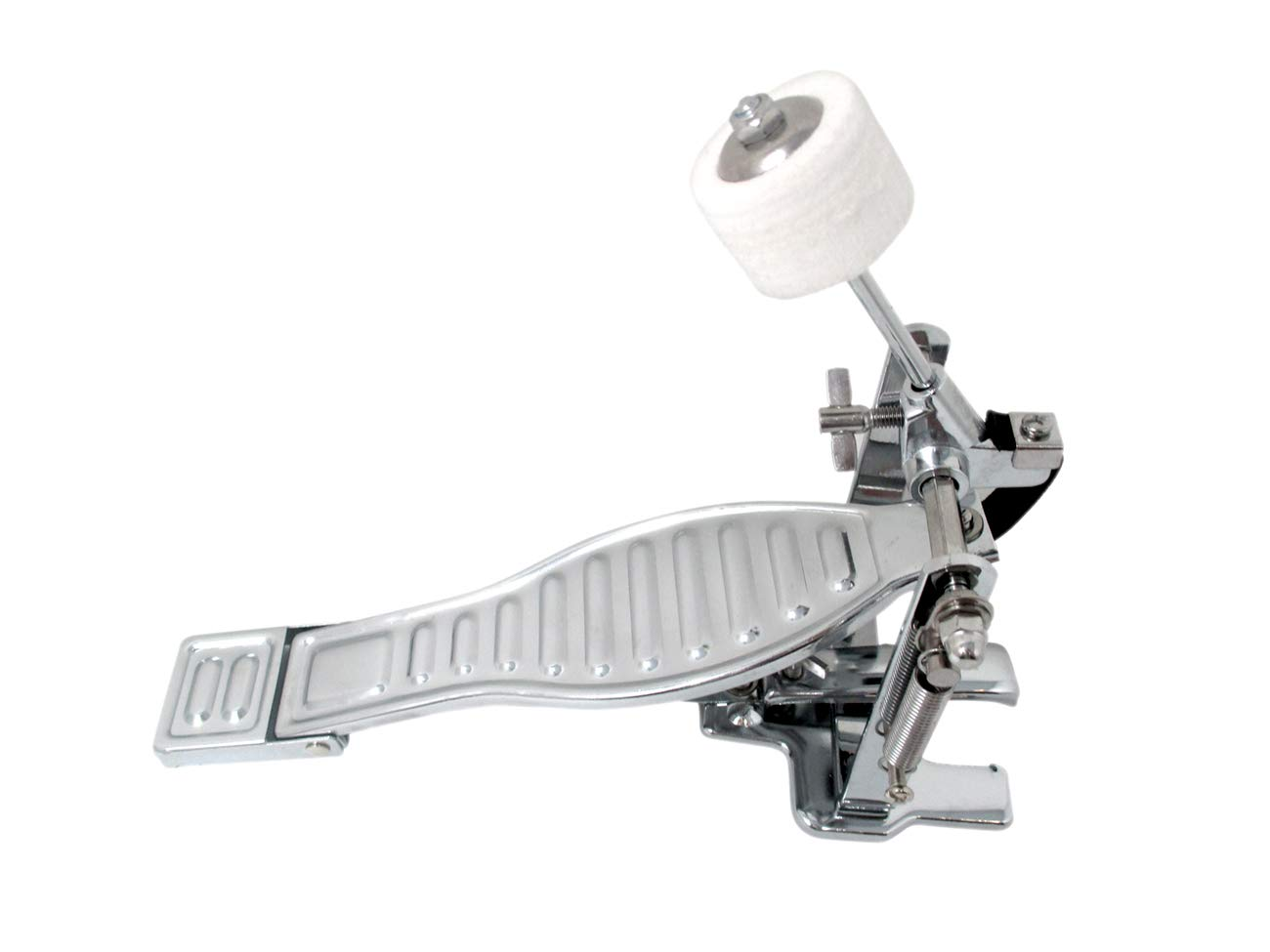 Kick Bass Drum Pedal For Drum Set by Trademark Innovations by Trademark Innovations