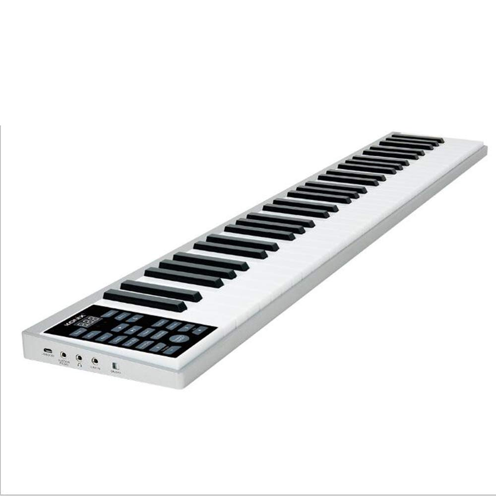 BESTSOGER Intelligent Piano, 61-Pey Tastiera Multi-Funzione, Built-in Proiettile Intelligente Microfono, Giocattoli educativi per i Bambini Principianti