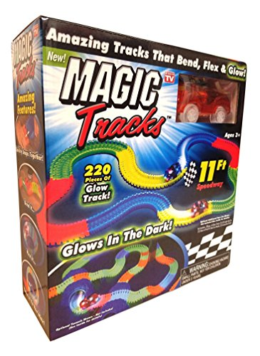 Price comparison product image Magic Tracks The Amazing Racetrack That Can Bend, Flex & Glow! As Seen On TV
