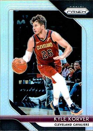 69e73e7d407f 2018-19 Panini Prizm SILVER Refractor  200 Kyle Korver Cleveland Cavaliers  Official NBA Basketball