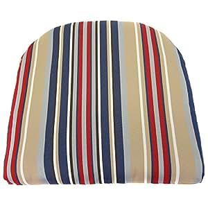 Jordan Manufacturing 18 in. Outdura Contoured Chair Pad