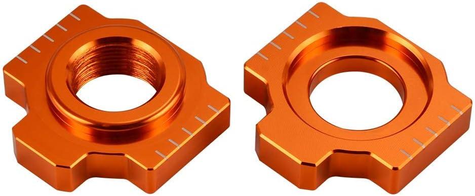 Cadena ajustador basculante resbalador de partes de motos Accesorios for KTM 790 Duke 2018 2019 690 Enduro Duke Supermoto R SMC SMCR Color : Orange LIWENCUI