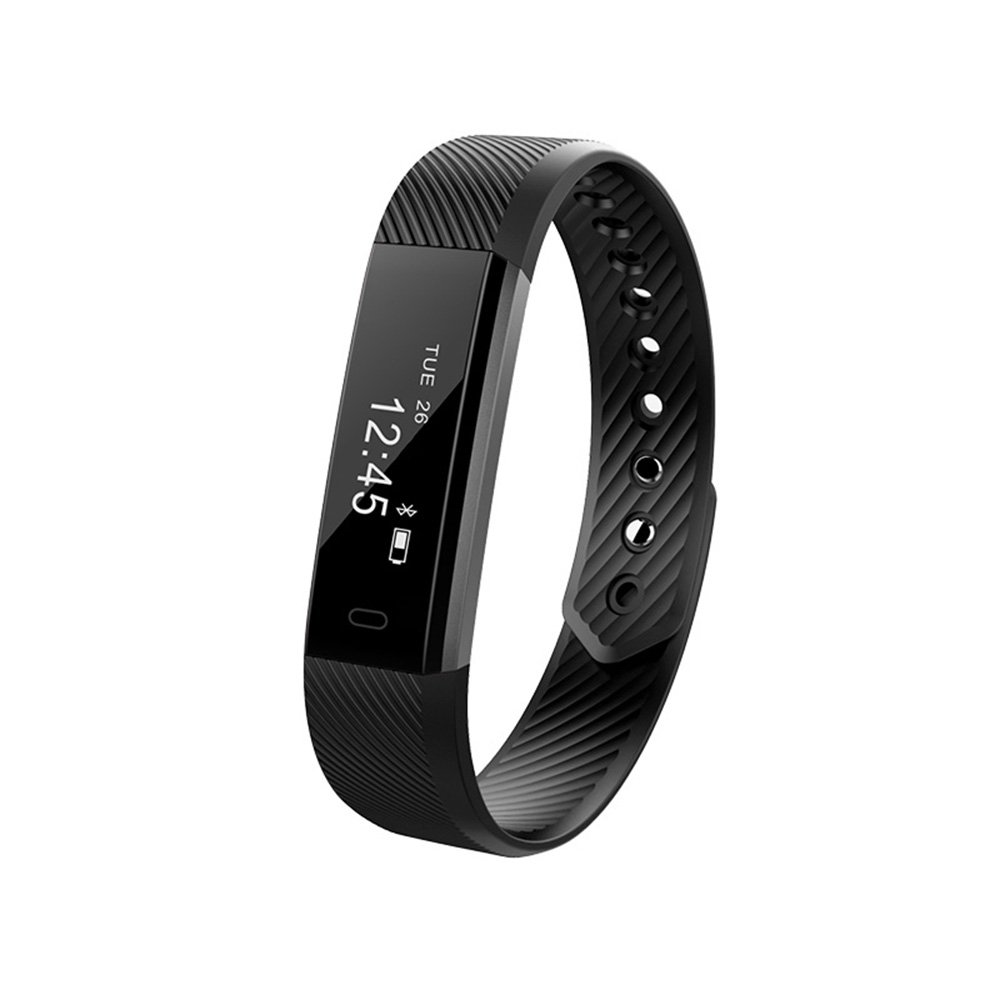 Smart Bracelet: Fitness Activity Tracker Watch Step Walking Sleep Counter Wireless Wristband Pedometer Exercise Tracking Sweatproof Sports Bracelet ALL iPhone ALL Android Smart Phones