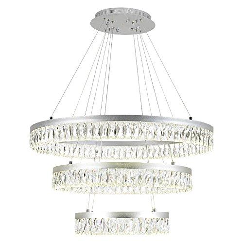 kr410 tonhan lámpara colgante blanco neutro, altura ...