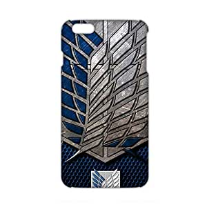 Angl 3D Case Cover Attact O Titain Logo Phone Case for iPhone6 plus