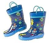 Stephen Joseph Kids Rain Boots, ROBOT, 9