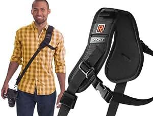 Black Rapid RS-Sport Strap - Slimmer Version with Built-in Underarm Defense
