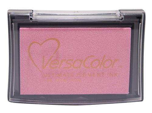 Tsukineko Full-Size VersaColor Ultimate Pigment Inkpad, Petal Pink