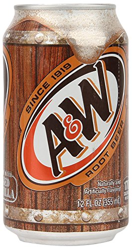 - A & W root beer 355mlX24 this (1 case)