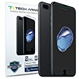 Apple iPhone 7 Plus / iPhone 8 Plus Screen Protector, Tech Armor Anti-Glare/Fingerprint Apple iPhone 7 Plus/ 8 Plus (5.5-inch) Screen Protectors [3-Pack]