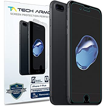 Amazon Com Iphone 8 Plus 7 Plus Matte Glass Screen Protector