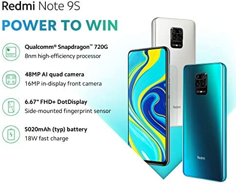 Xiaomi Redmi Note 9S 6Gb 128Gb Azul 9