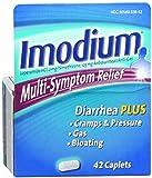Imodium Multi-Symptom Relief Caplets 42 ea (8 Pack)