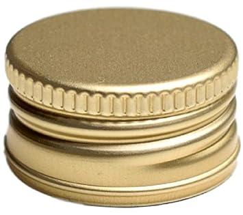 aceto 24er Set gold ideale per liquori lingua italiana non garantita vuote Set di bottiglie di vetro olio. da 200/ml includetappi a vite in argento e ricettario di 28/pagine