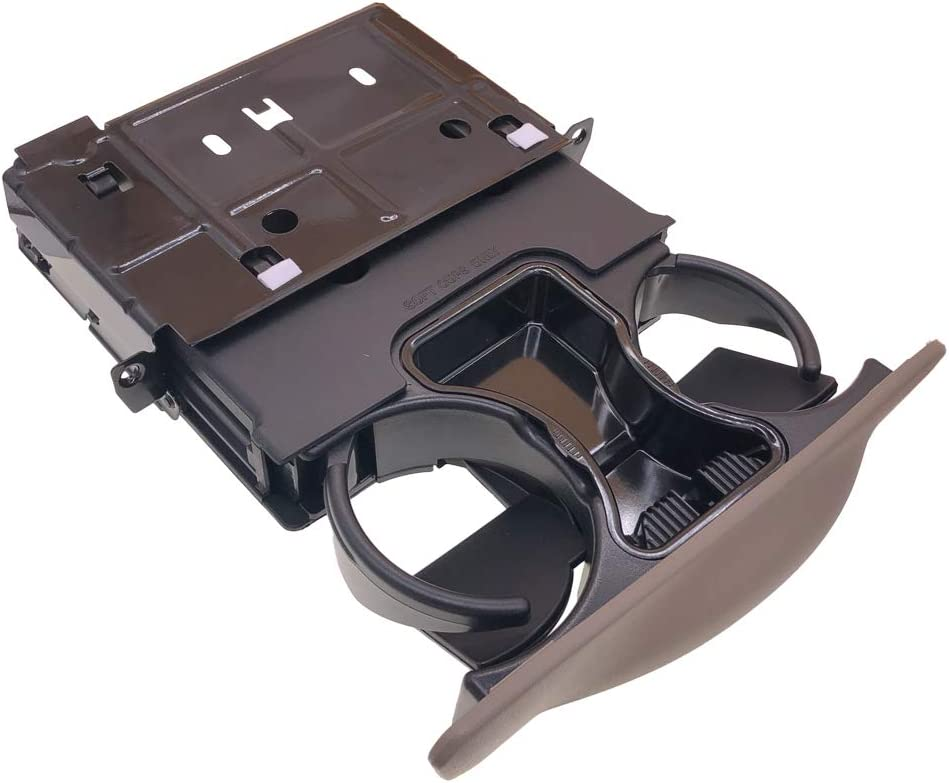 Tan Cup Holder YC3Z-2513560-CAB fits for Ford Excursion F250 F-250 F350 F-350 F450 F-450 F550 F-550 Super Duty Dash Dashboard Cup Holder
