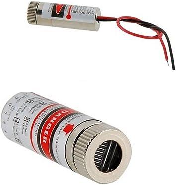 650nm 5V 5mW Red Laser Line Focus Adjustable Laser Head 5V A2TS