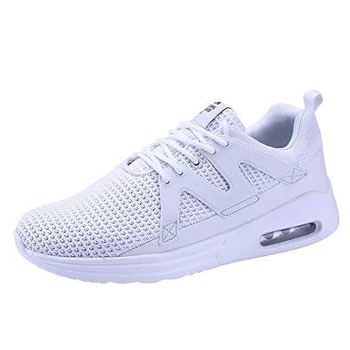 Zapatillas Hombres Zapatos 2018 Adolescentes Adultos Deporte Running Zapatos para Correr Deportivas Gimnasio Sneakers Deportivas Padel Transpirables: ...