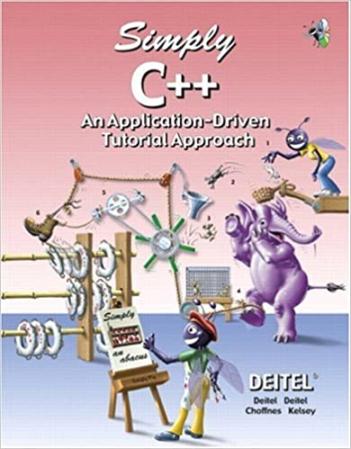Download Simply C++: An Application-Driven Tutorial Approach