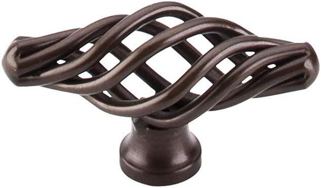 "4"" Hole Spacing Bronze Furniture Cabinet Pulls Handles Birdcage 1 1//2"" Depth"