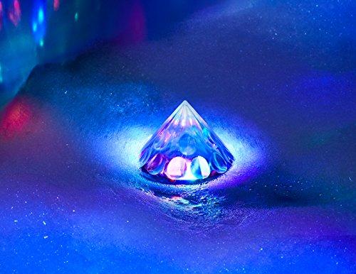 Tinc Boogie in The Bath Multi-Colour Light up Floating LED Disco Bulb