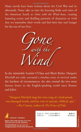 gone the wind margaret mitchell pat conroy  gone the wind margaret mitchell pat conroy 8601400260616 com books